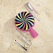 lollipop stainless steel manicure set