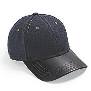men s wool blend baseball cap