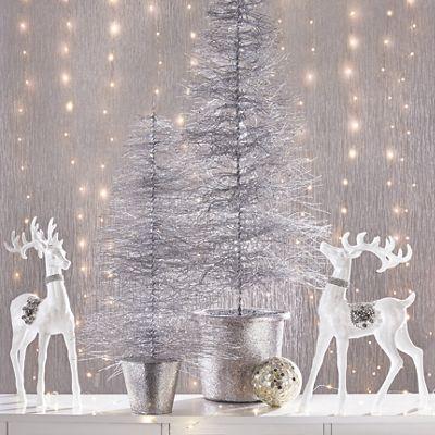 Set of 2 Glitter/Jewel Deer