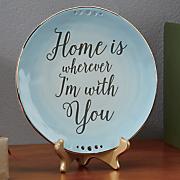 home stoneware plate