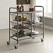 urban loft kitchen trolley cart