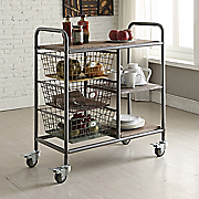 urban loft kitchen trolley cart