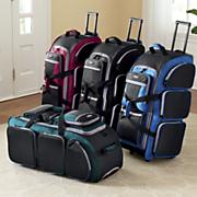multi pocket upright duffel by travelers club