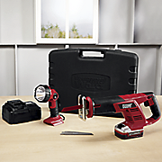 reciprocating saw   worklight set by montgomery ward