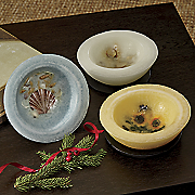 scented wax bowl