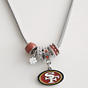 nfl bead necklace by siskiyou buckle