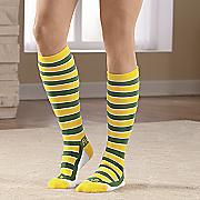 team color knee socks