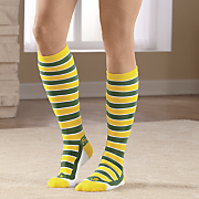 team color knee socks