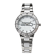 nfl women s mother of pearl watch