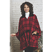 Party Plaid Cape