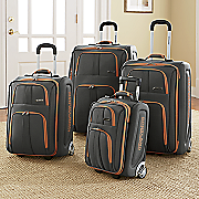 4 pc  luggage set by rockland polo equipment