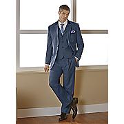 men s blue 3 pc  suit