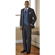 men s navy 3 pc  suit