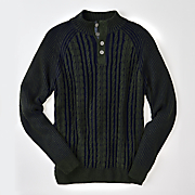 basil button collar sweater by f x fusion