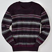 port crew neck sweater by f x fusion