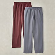 men s pull on fleece pant by cotton traders