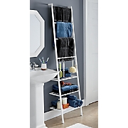 ladder organizing shelf