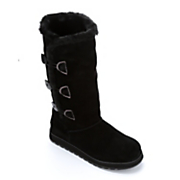Suede 3-Button Boot by Skechers