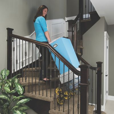 Upcart Stair Climber And Custom Fit Bag