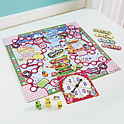 shopkins supermarket scramble board game by moose toys