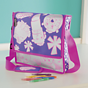 shopkins color and fashion messenger bag by moose toys