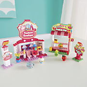 shopkins fashion boutique or fruit   veg stand set by moose toys