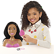 barbie glam party styling head by mattel