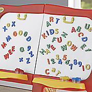 128 pc  magnetic letter set by crayola