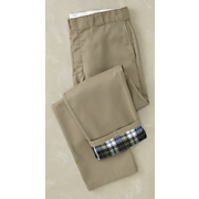 men s flannel lined work pant by dickies
