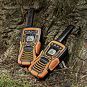 37 mile range walkie talkie by cobra