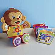 chat and learn reading monkey by vtech