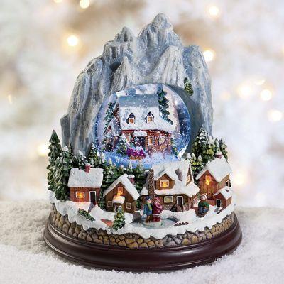 Limited Edition Mountain Village Snowglobe