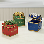 personalized hinged box ornament