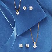 1 4 ct solitaire diamond necklace