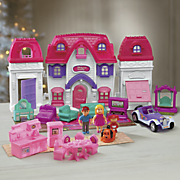 24 pc  dollhouse set