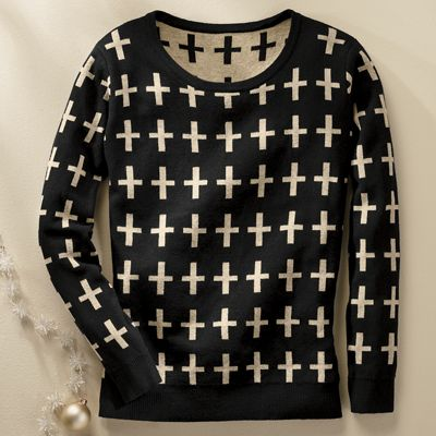 Women's Cross Sweater