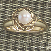 love knot ring 61