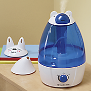 ultrasonic humidifier with bonus spouts by comfort zone