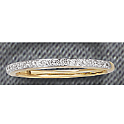 25 ct gold diamond channel band