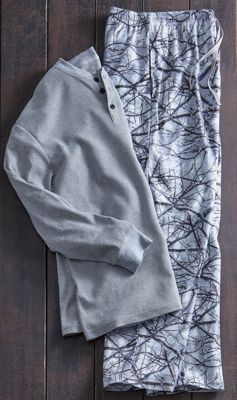 Men's 2-Piece Winterland PJ Set