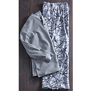 men s 2 pc  winterland pj set