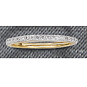 .35 CT Gold Diamond Channel Band