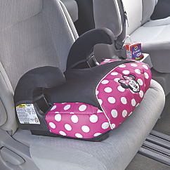 disney store and go booster car seat by safety 1st
