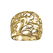 scroll dome ring
