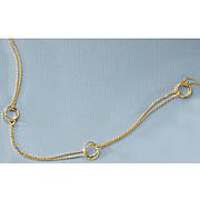 3 twisted circles bracelet