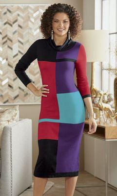 Antonia Sweater Dress
