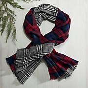 reversible blanket scarf