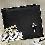 cross bifold leather wallet