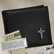 cross bifold leather wallet