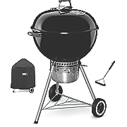 "Original Kettle™ Premium 22"" Charcoal Grill, Brush and Cover by Weber®"